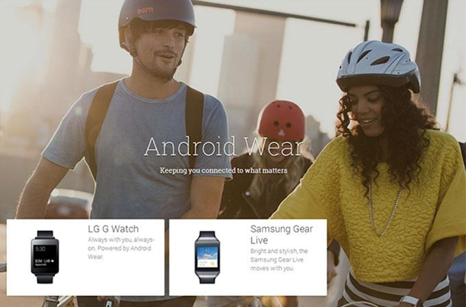 LG G Watch ve Samsung Gear Live satışta