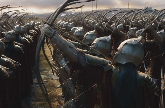 The Hobbit: The Battle of the Five Armies'in fragmanı yayınlandı!
