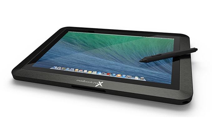 OS X ile çalışan tablet: Modbook Pro X