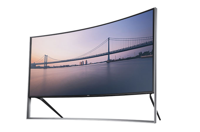 Samsung'un kavisli 4K TV'sini satın almak için küçük bir servete ihtiyacınız var