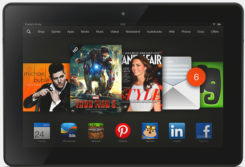 AnTuTu, Amazon Kindle Fire HDX 8.9, İşlemci, Tablet