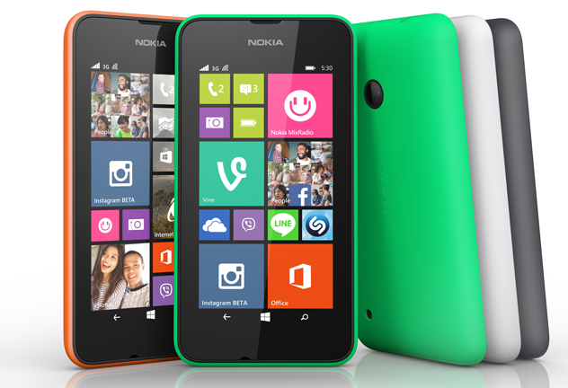 Nokia'dan Windows Phone 8.1'li ucuz telefon: Lumia 530