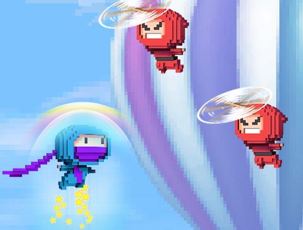 Gameloft'tan tamamen ücretsiz bir oyun; Ninja Up!
