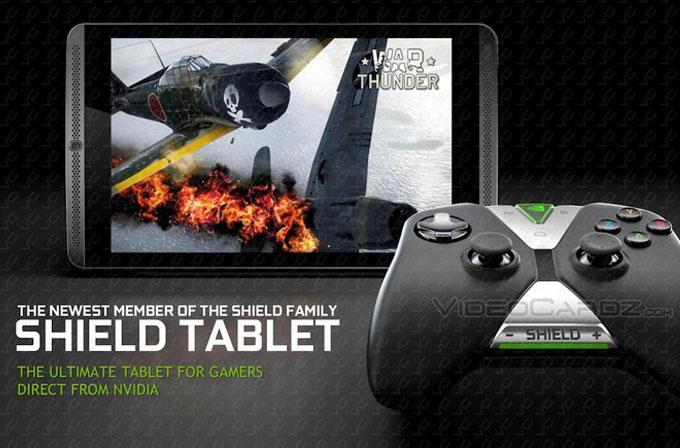 NVIDIA SHIELD Tablet'in tüm detayları belli oldu