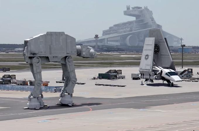 Video: Sahte de olsa bu Star Wars VII setini mutlaka görmelisiniz!