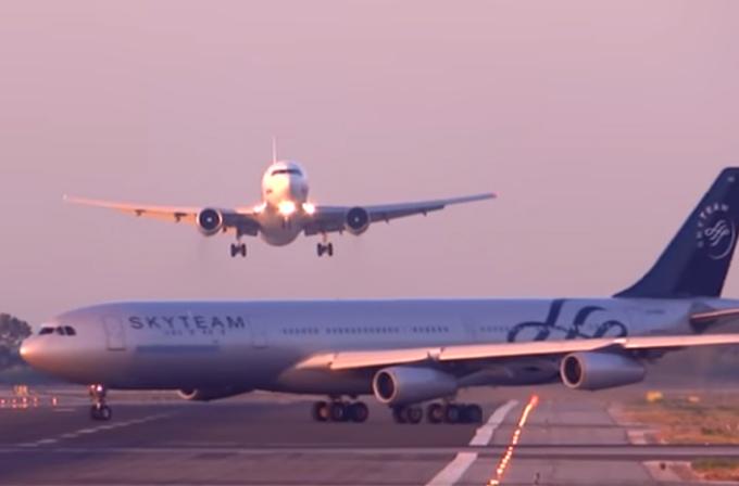 Video: Barcelona havaalanında felaketten dönüldü!