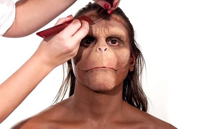 Video: Bir insan, 4 dakikada nasıl maymuna dönüştürülür?
