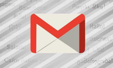 Gmail'in dil seçeneği 71'e çıktı