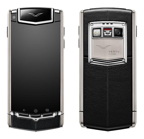 11,000 dolarlık Vertu Ti'nin tek büyük özelliği dış malzemesi ve safir ekranı