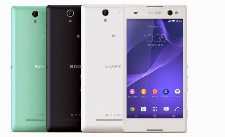 """""""Dünyanın en iyi selfie telefonu"""" Sony Xperia C3 tanıtıldı"""