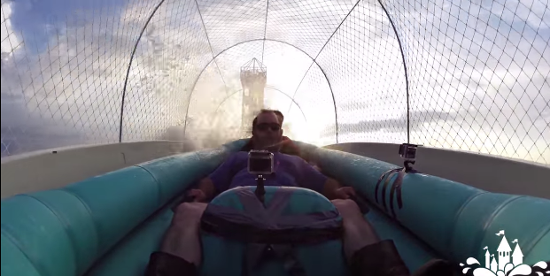 Dünyanın en uzun su kaydırağından yeni video