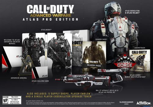 Call Of Duty: Advanced Warfare Atlas Editions