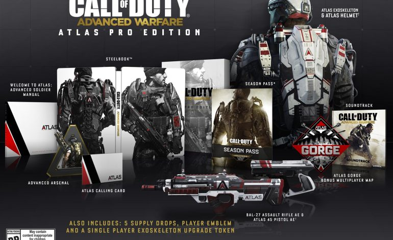 Call of Duty: Advanced Warfare Atlas Editions duyuruldu