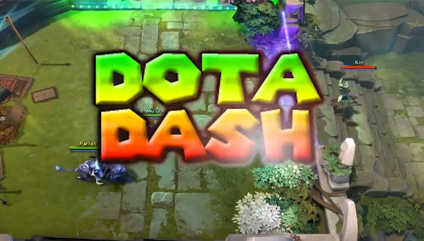 Video: DotA2 haritalarında artık motor sporuyapmak mümkün!
