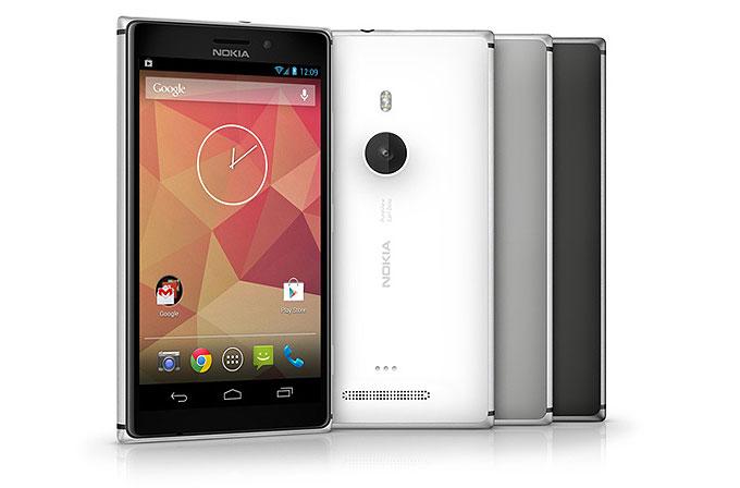 Android'li Lumia gelebilir