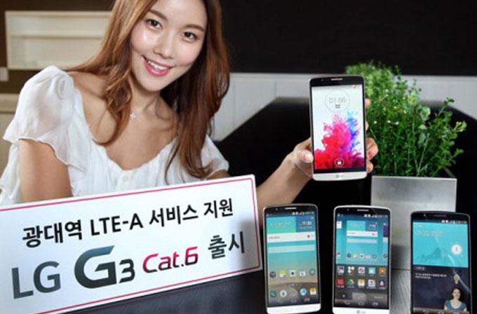 Snapdragon 805'li LG G3 Kore'de duyuruldu