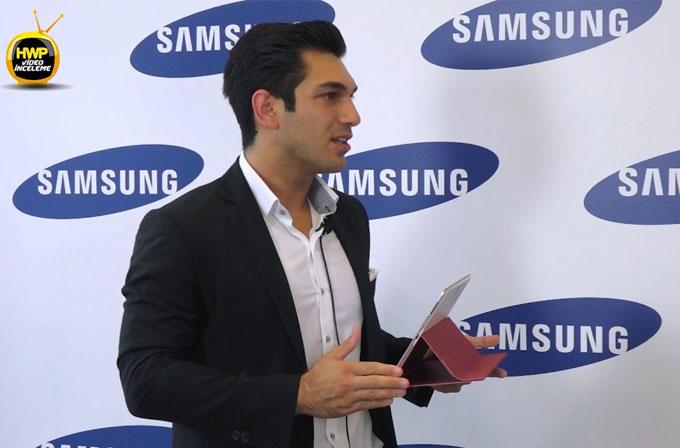 Samsung Ürün Müdürü Alper Gül ile Galaxy Tab S hakkında konuştuk
