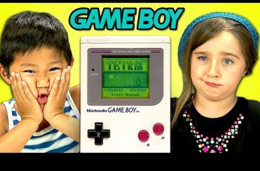 Kids React: Game Boy