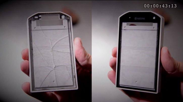 Artık akıllı telefonlarımızın ekranı değil, ekranın çarptığı taş kırılacak