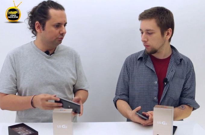 Video: LG G3 üzerine konuştuk
