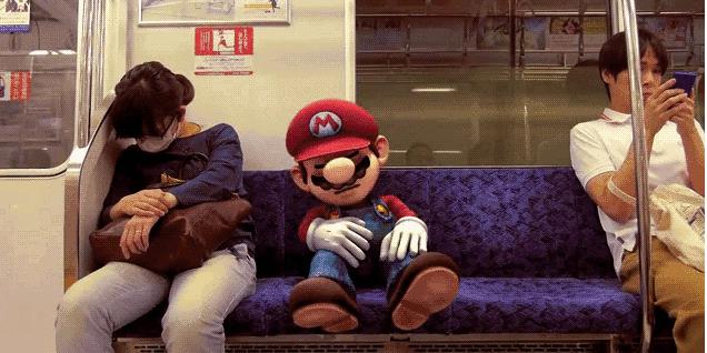 Video: Super Mario, Japonya'da koşturursa