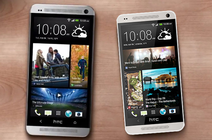 HTC One ve HTC One Mini