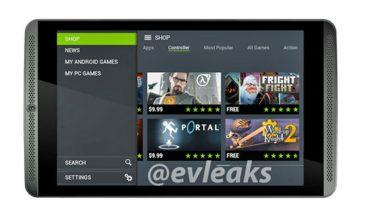 NVIDIA Shield Tablet'in ilk görseli sızdırıldı