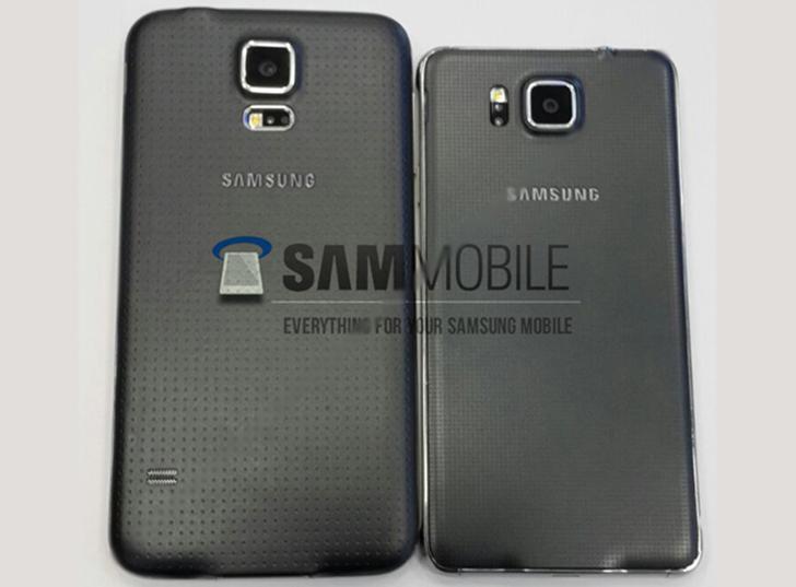 Galaxy S5 ve Galaxy Alpha yanyana