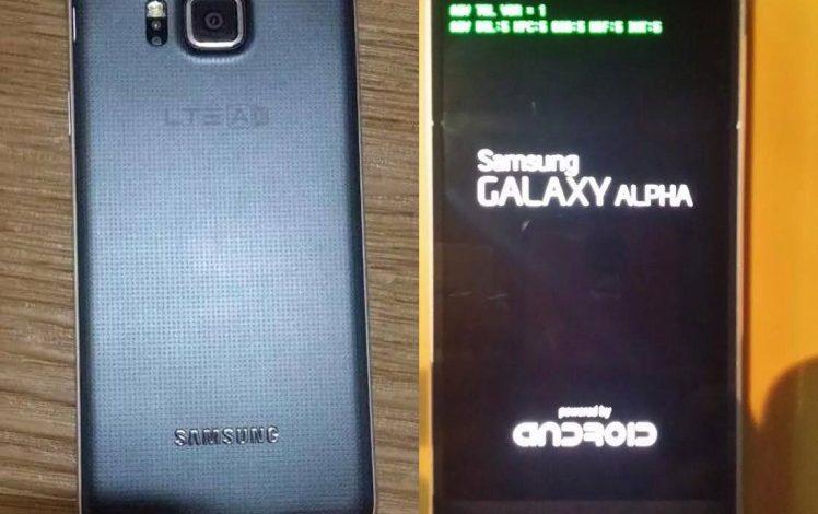 Samsung Galaxy Alpha'nın görselleri bizlerle