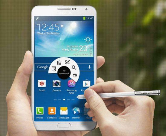 Galaxy Note 4'te UV sensör yer alacak.
