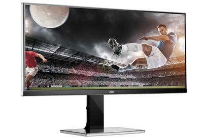 AOC, 34 inçlik UltraWide WQHD monitörünü sunar