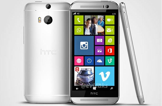HTC One M8'in Windows Phone'lusu geliyor!
