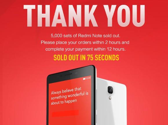 Xiaomi'nin yeni satış süresi eskilere oranla biraz daha düşük