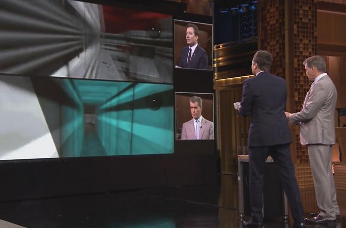 Video: Jimmy Fallon, James Bond'u kendi oyununda yendi
