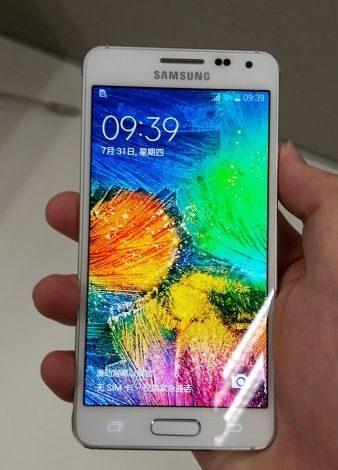 Samsung Galaxy Alpha, Rusya'da görüntülendi