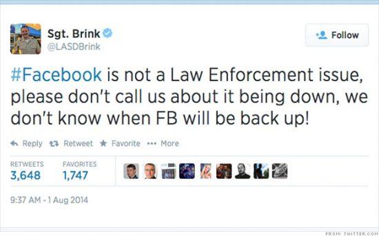 Çavuş Brink'in attığı tweet