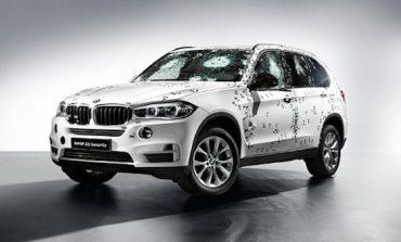 BMW, kurşun geçirmez aracı X5 Security'i duyurdu