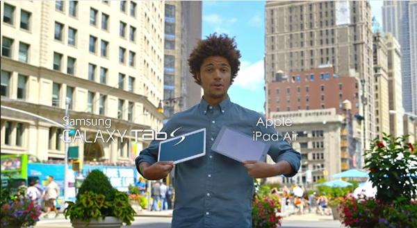 Galaxy Tab S vs Apple iPad