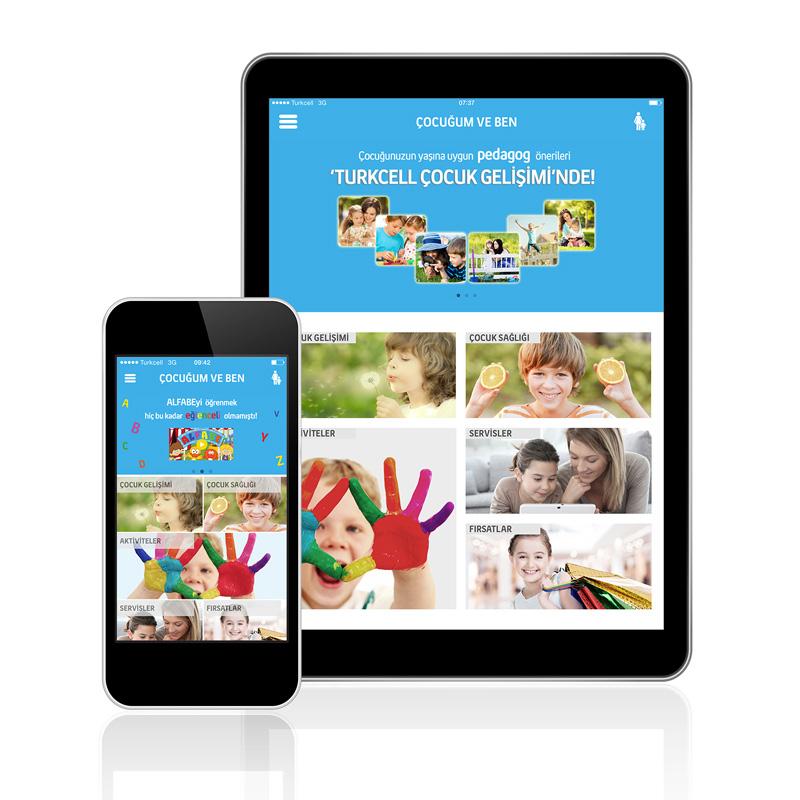 Uygulama içerisinde, Çocuk Sağlığı, Çocuk Gelişimi, Aktivite Önerileri gibi ebeveynlerin beslenebileceği içerikler yer alırken, bir de çocukların eğitici videolara ulaşabilecekleri Çocuk Profili bulunuyor.