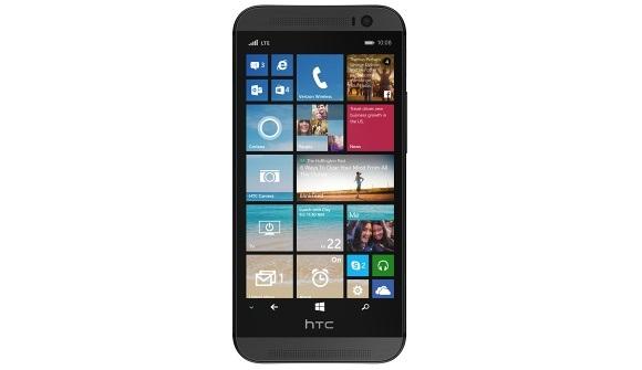 Windows Phone 8.1'li HTC One M8'in resmi görseli sızdırıldı