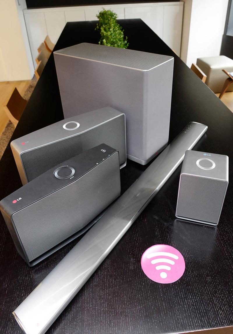 LG, Hi-Fi, Music Flow, ses sistem