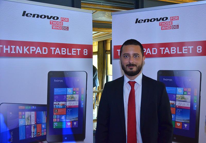 Lenovo Türkiye Kanal Müdürü Burç San