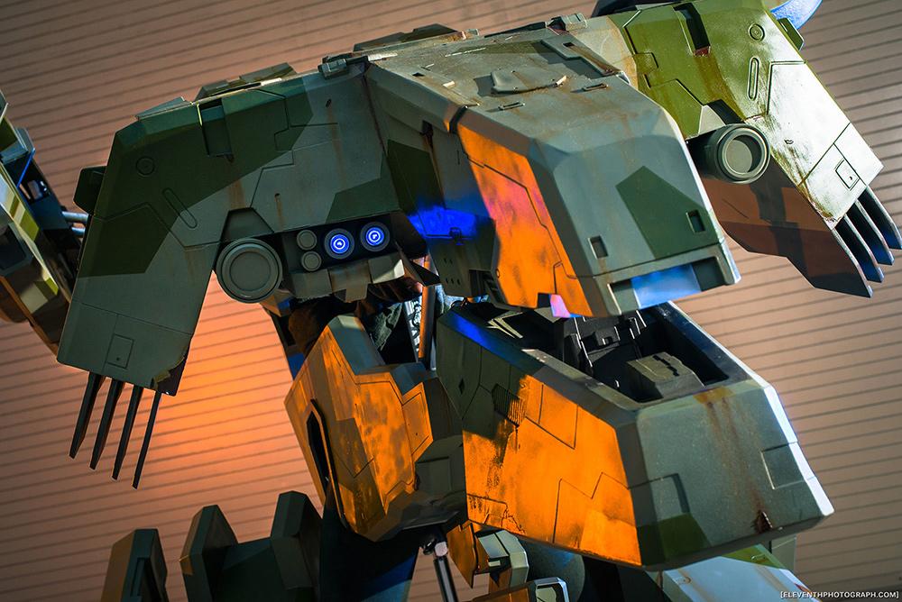 Metal Gear REX Cosplay