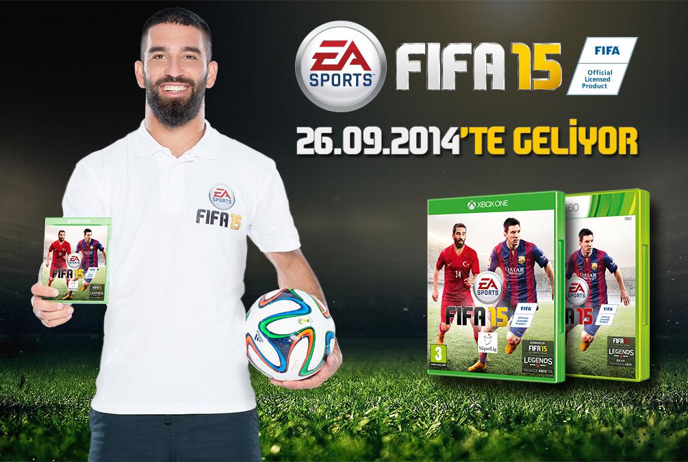26 Eylül'de satışa çıkacak olan FIFA 15 şimdiden ön siparişte satılmaya devam ediyor.