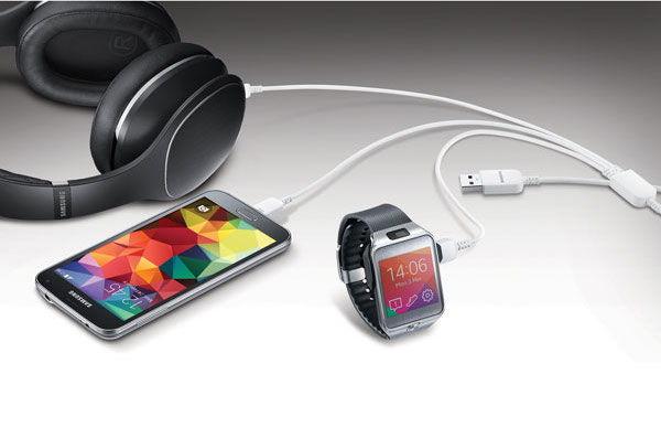 Samsung 3'ü bir arada USB kablo