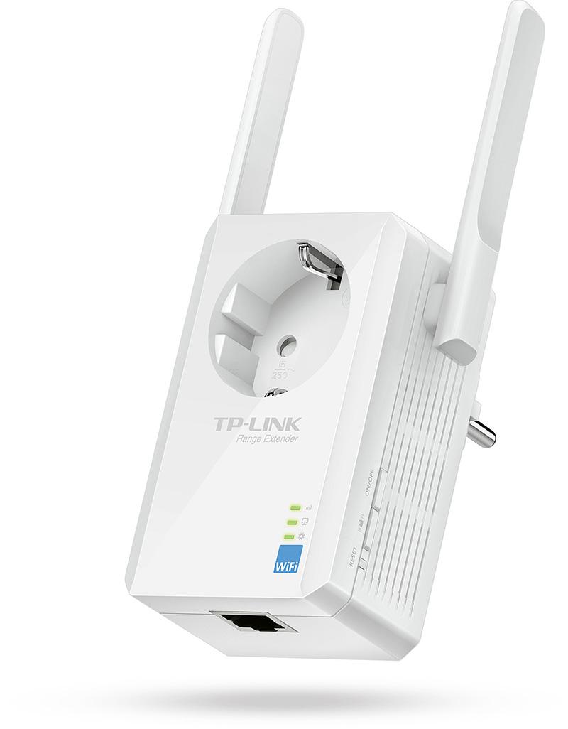 300Mbps kablosuz hıza ulaşabilen TL-WA860RE, minyatür boyutu sayesinde duvar üzerinde fazla yer kaplamıyor.