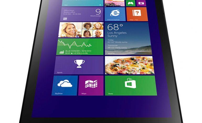Emlakçıların hayatı Lenovo ThinkPad Tablet 8 ile artık daha kolay