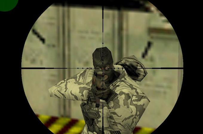 Counter-Strike'ta mermiye kafa atıp devam eden oyuncu bulundu