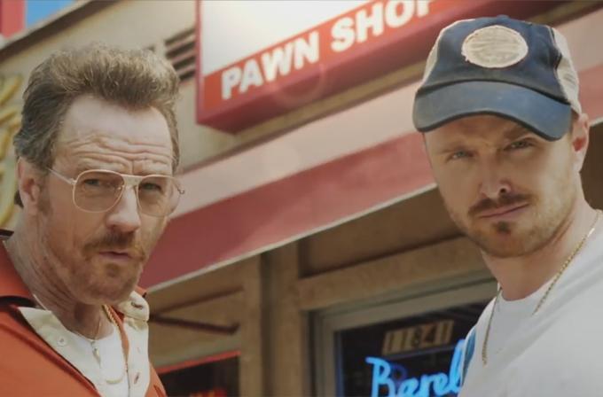 Video: Mr. White ve Jessie, Emmy ödülleri için yeniden bir araya geldi