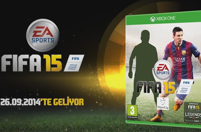 Video: FIFA 15'in Türkiye kapağındaki ünlü futbolcu kim olacak?